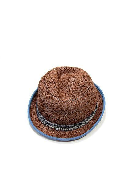 Baboon hat blue