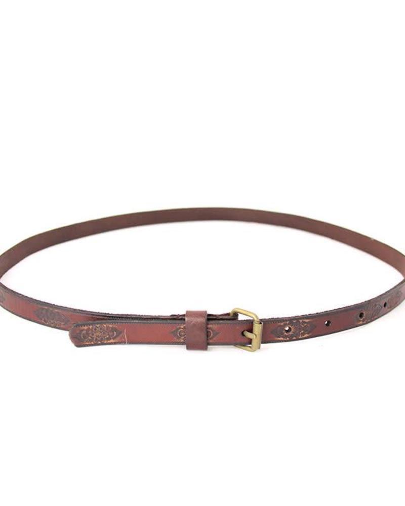 Cowboysbelt belt 158006 brown