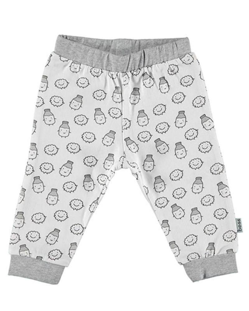 b.e.s.s. Bess Jersey Pants Unisex AOP 1840-002 Katoen