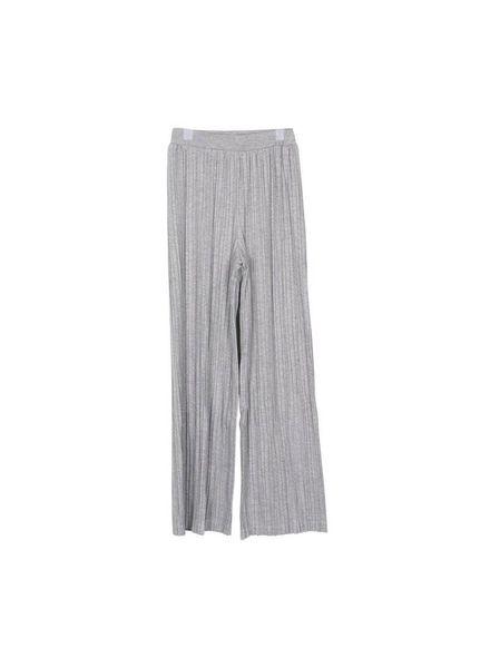 Grunt Hai Crop Pant Grey Melee 1823-429 Katoen