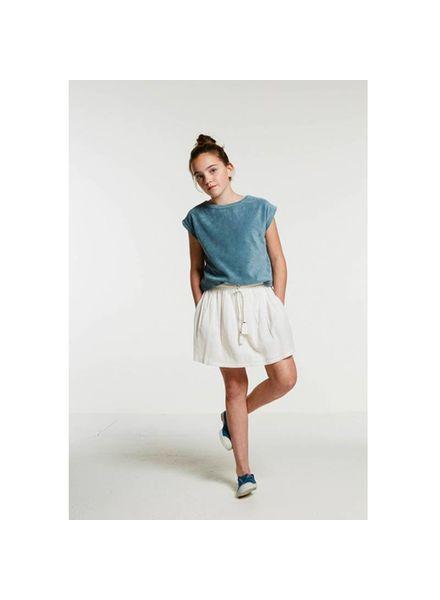 Palino Cotton Voile Skirt Off White Katoen