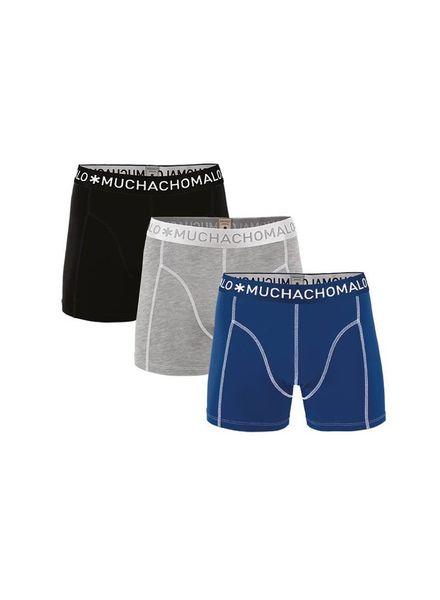 Muchachomalo short 3-pack JSolid 187 Katoen Elastan