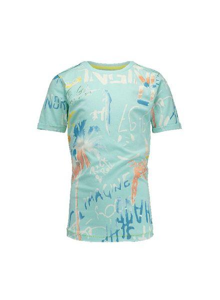 Vingino t-shirt Herrie Island Blue Katoen