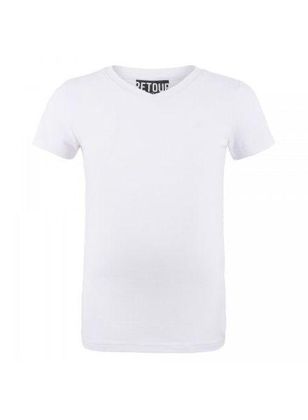 Retour Jeans T-shirt Sean Wit Katoen Elastan