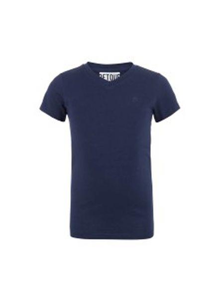 Retour Jeans T-shirt Sean Blue Katoen Elastan