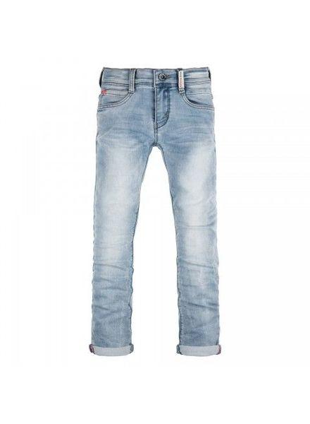 Retour Jeans Jog Denim Luigi Medium Blue Katoen Elastan