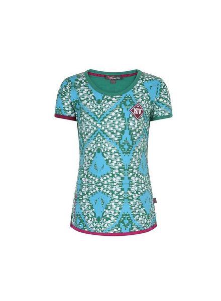 Ninni Vi Ninni Vi T-Shirt NVSS18-07 AOP 1 Light Blue