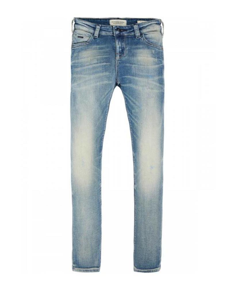 Scotch Shrunk Scotch Shrunk Skinny Jeans Tigger 141853 1810 Katoen Elastan