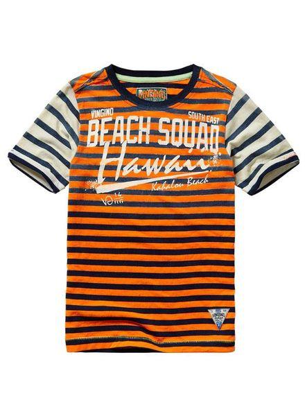 Vingino t-shirt Hud Neon Orange Katoen
