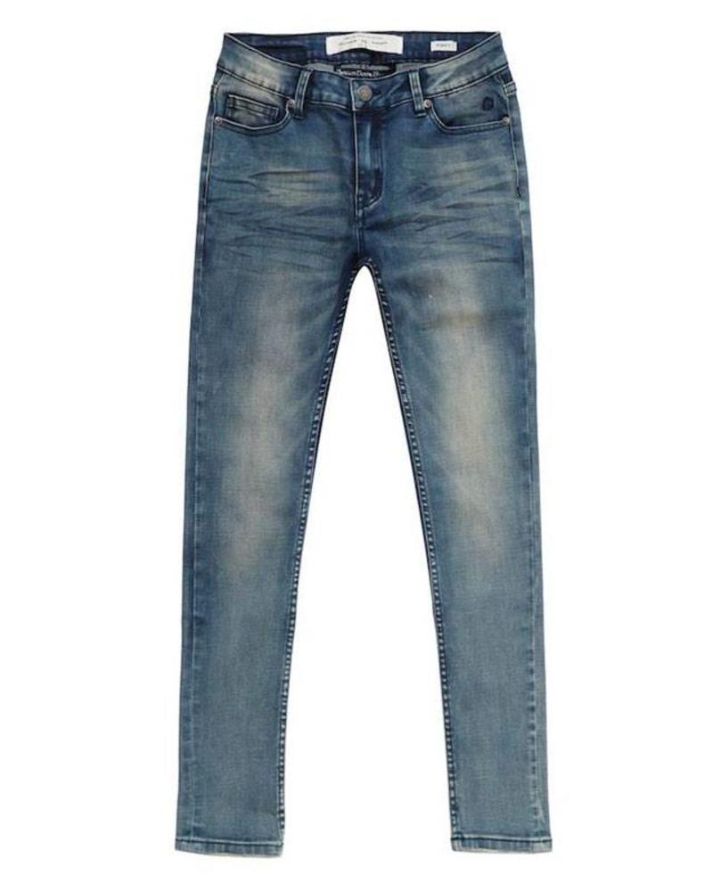 Circle of Trust Circle of Trust  Skinny Jeans Poppy dirty washed Katoen Elastan