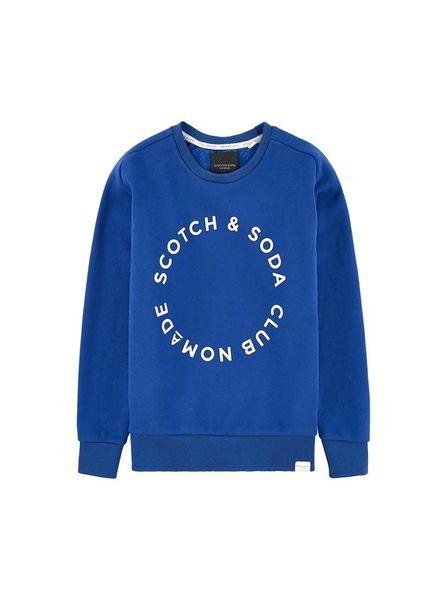 Scotch Shrunk Club Nomade crew neck sweat 144357 2135