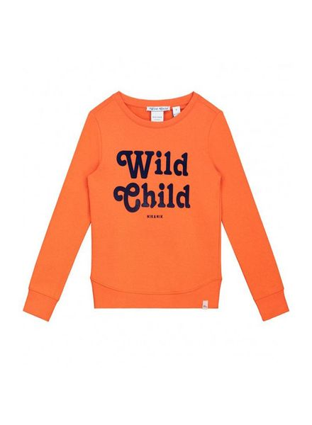 Nik & Nik by Nikkie Poloma Sweater Orange G 8-848 1804
