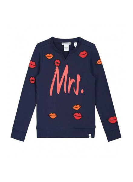 Nik & Nik by Nikkie Gina Kiss Sweater Dark Blue G 8-878 1804