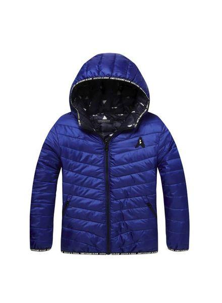 Scotch Shrunk Reversible nylon jacket Blue 144304