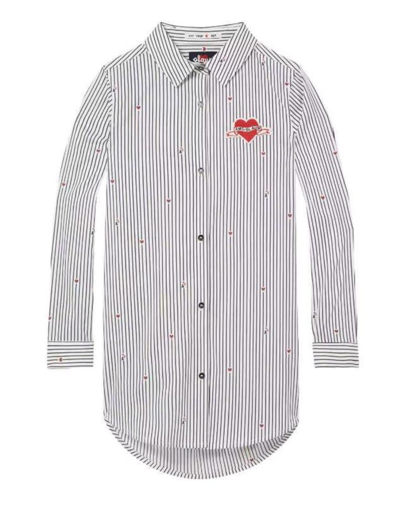 Scotch Rebelle Dress shirt stripe 147549