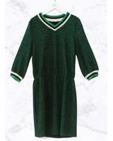 Ai&Ko Dress Gitana Lurex Pes Emerald Green 150 J