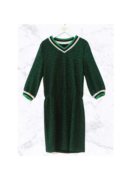 Ai&Ko Dress Gitana Lurex Pes Emerald Green 150 J