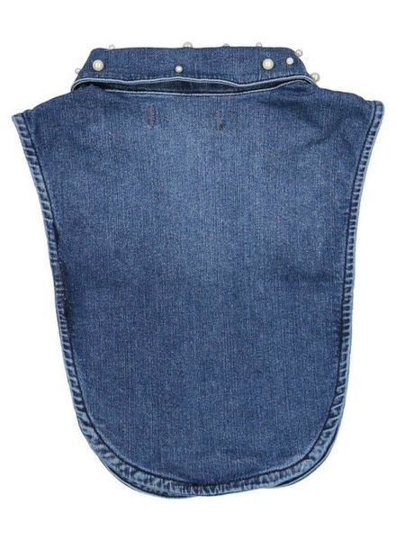 Crush Denim Collar Lucy Pearl Dark Blue 31823101