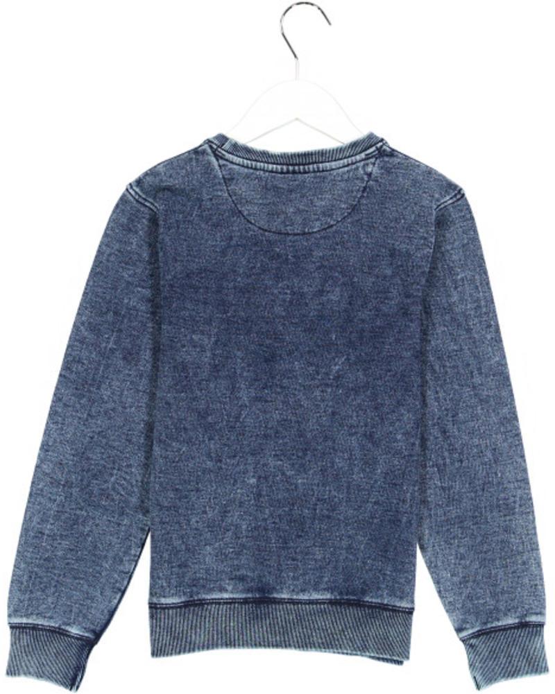 Crush Denim Sweater Silvan 31811120