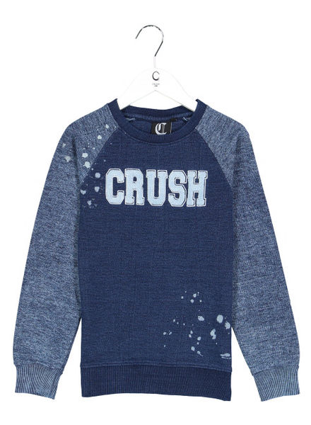 Crush Denim Sweater Silvio 31811121