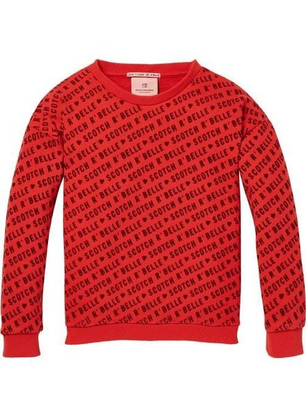 Scotch Rebelle AOP Crewneck Sweater 148476