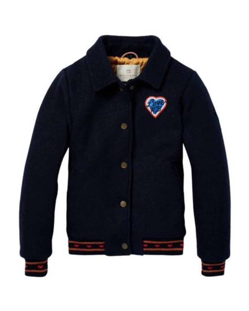 Scotch Rebelle Jacket Woolen Bomber 146969