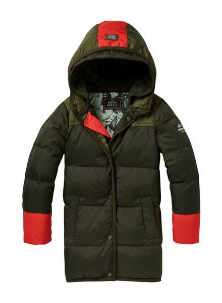 Scotch Shrunk Jacket Quilted 147251