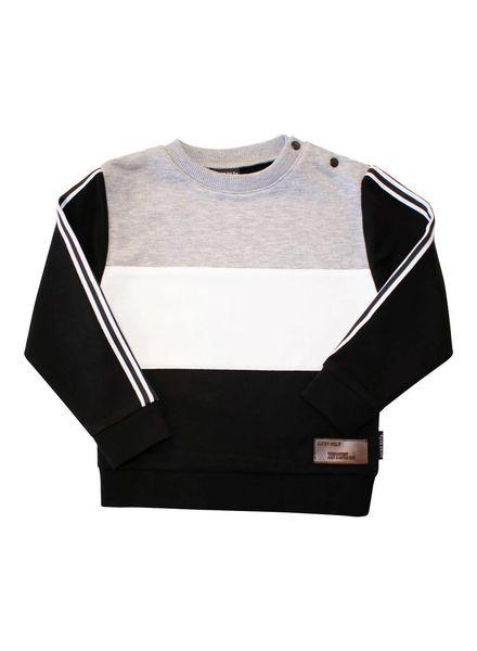 Lucky No7 Sweater Basic Colourblock WP18.603.789