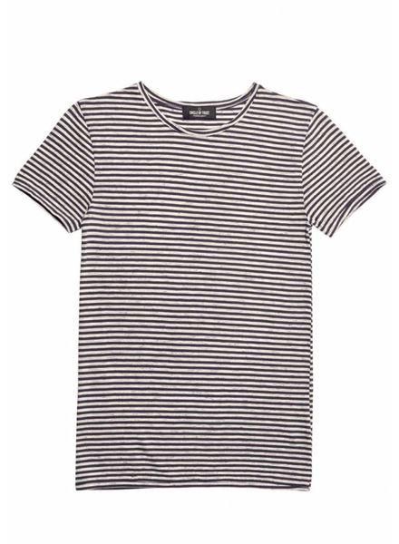 Circle of Trust T-shirt Ace Tee Stripe BW18_28_1444