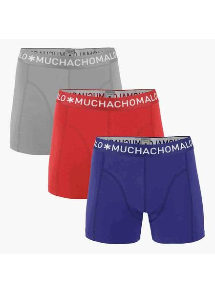 Muchachomalo Short 3-PACK 1010JSOLID255