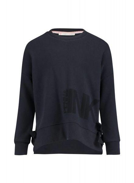 PENN&INK Sweater Print Blauw W18F328K