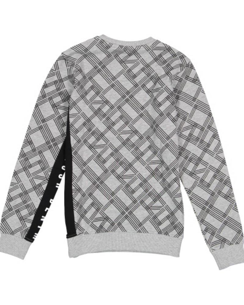 Crush Denim Sweater Crew AOP 81811103