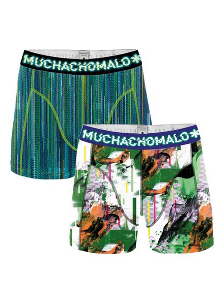 Muchachomalo Short 2-pack Life is a glitch 1010JGLITCH04