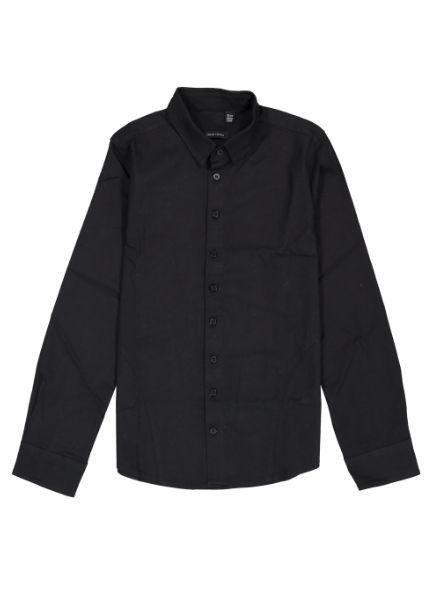 Crush Denim Blouse Boy 71811301 zwart