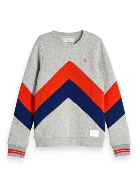 Scotch Shrunk Sweater color block 150089