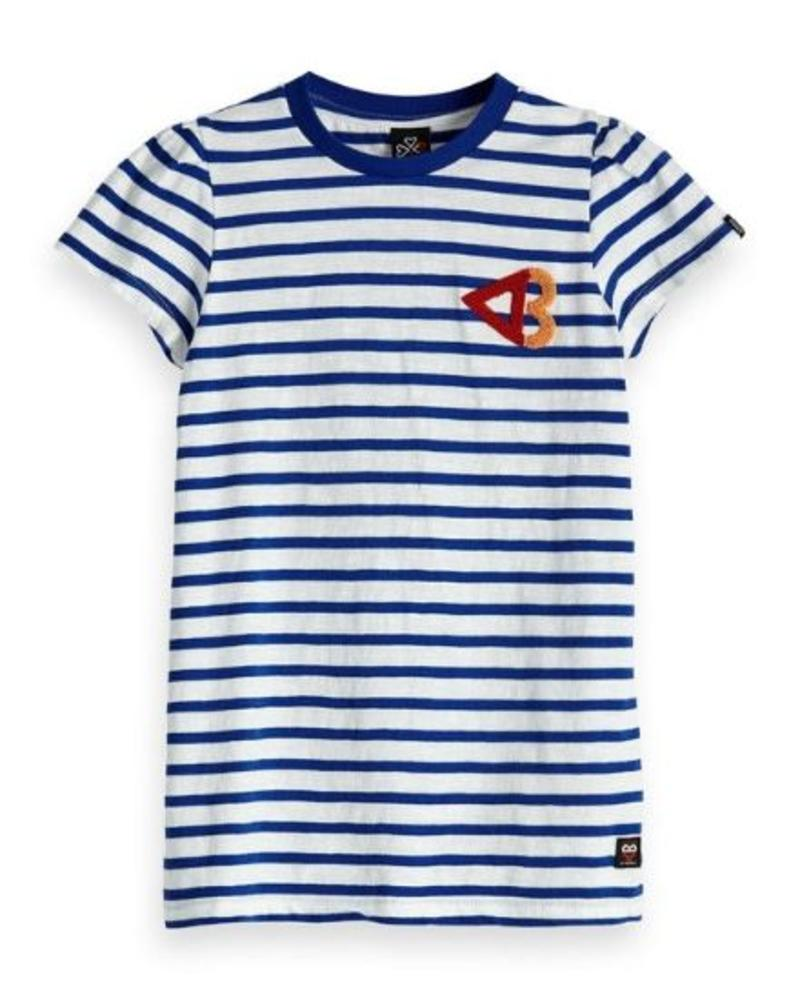 Scotch Rebelle T-shirt puff sleeves 147688
