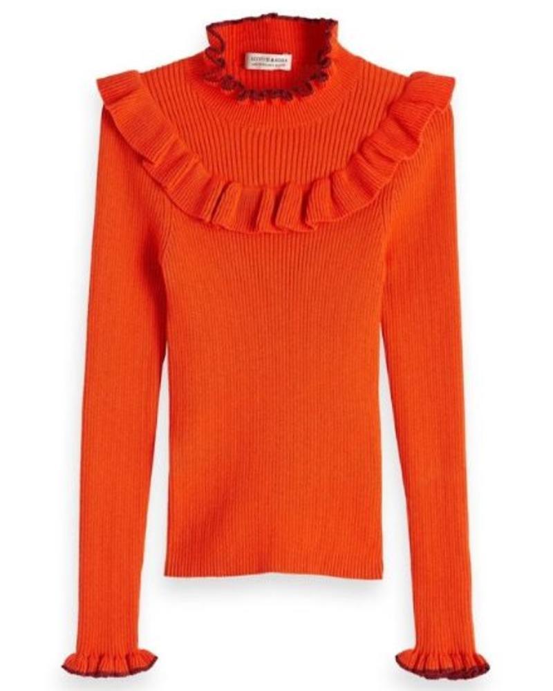 Scotch Rebelle Longsleeve rib knit 147689