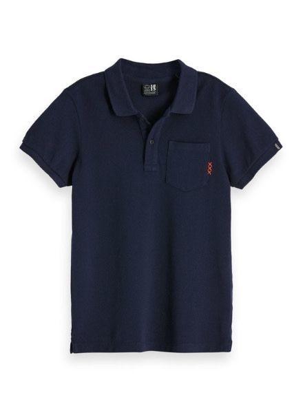 Scotch Shrunk Polo garment dyed 147968 zw