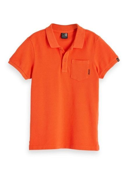 Scotch Shrunk Polo garment dyed 147968 or