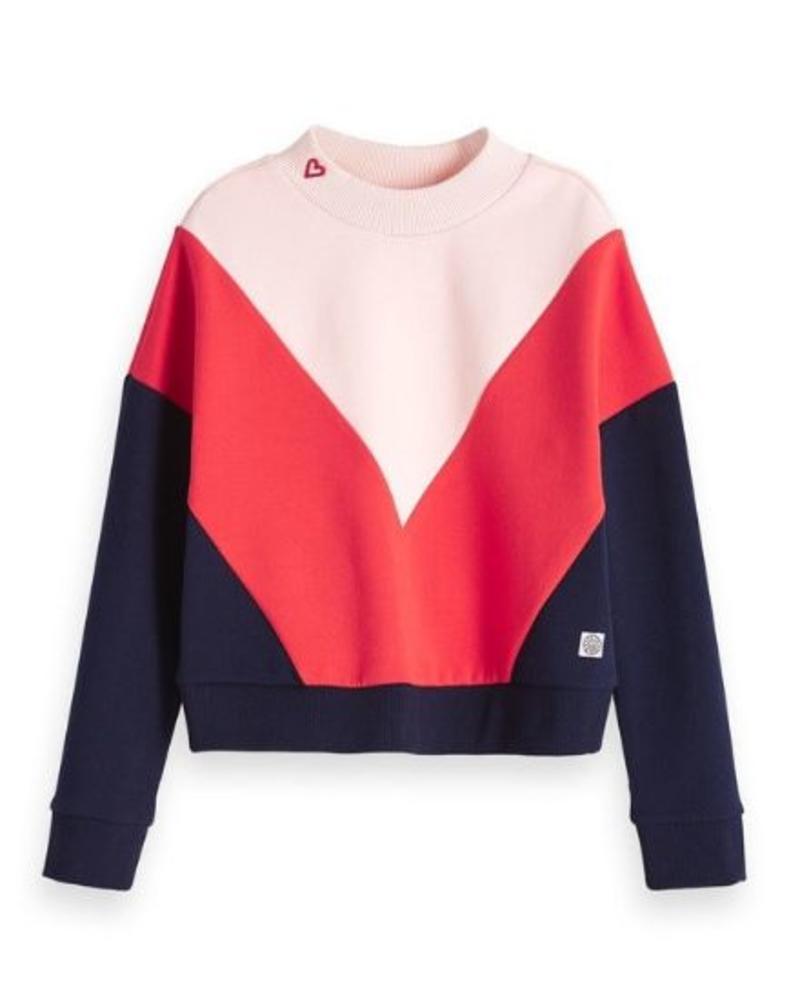 Scotch Rebelle Sweater color blocks 148015