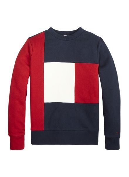 Tommy Hilfiger Sweater Colorblock KB0KB04485618
