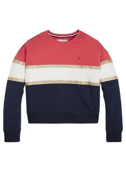 Tommy Hilfiger Sweater Glitter Printed Colo KG0KG04112616
