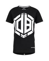 Daley Blind T-shirt Hayden SS19KBN30025 zwart