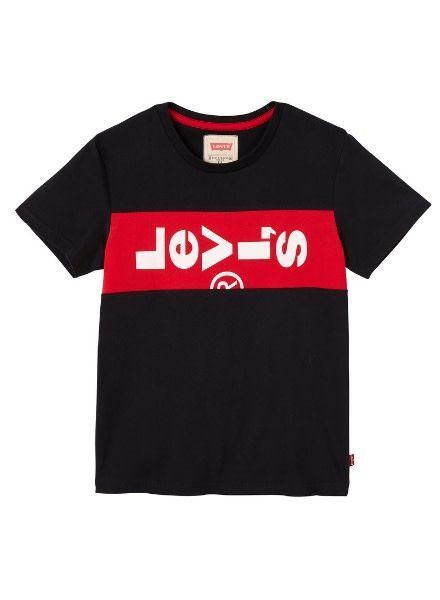 Levi's T-shirt Xlazytab NN10007 zwart