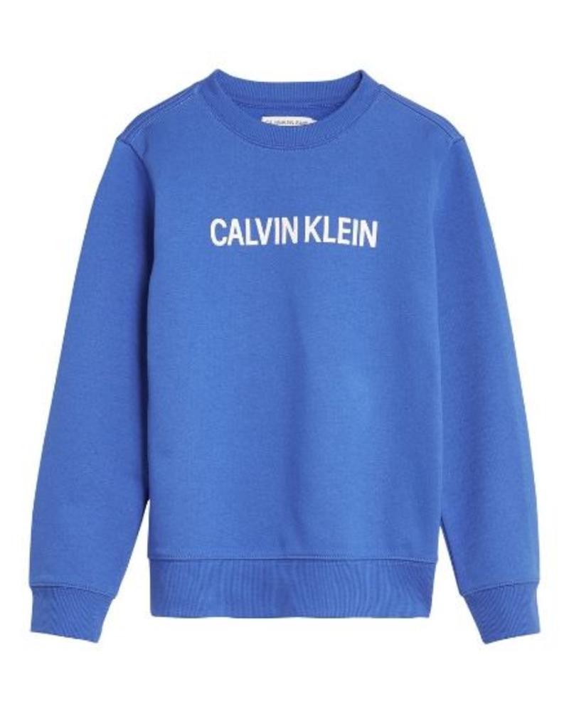 Calvin Klein Sweater Logo Brushed Crew IB0IB00009401