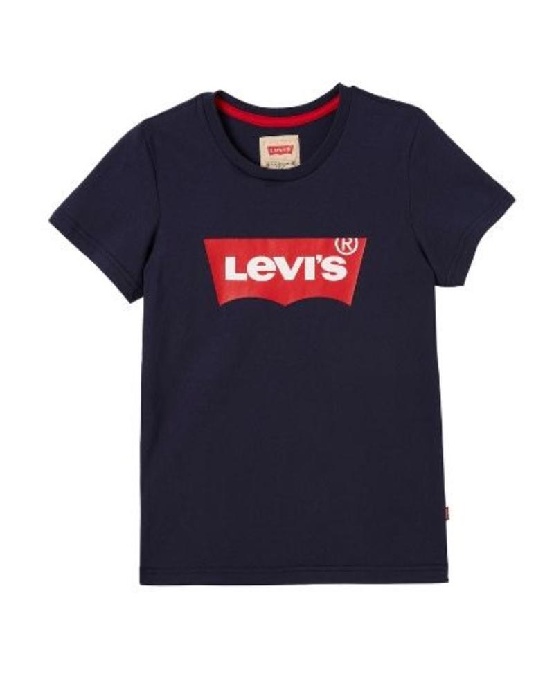 Levi's T-shirt Batwing NN10117 blauw