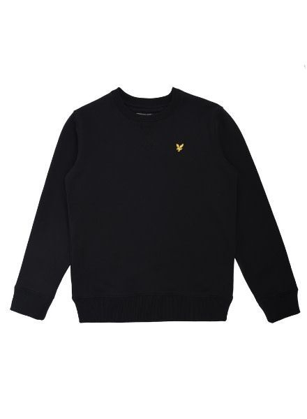 Lyle en Scott Classic Crew Neck Fleece TrueBlack LSC0016-951
