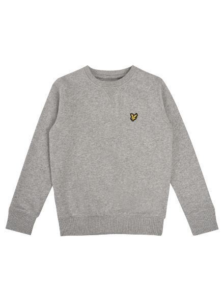Lyle en Scott Classic Crew Neck Fleece Vintage Grey LSC0016-G59