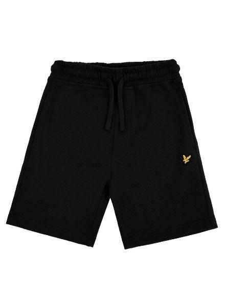 Lyle en Scott Classic Sweat Short True Black LSC0051S-951