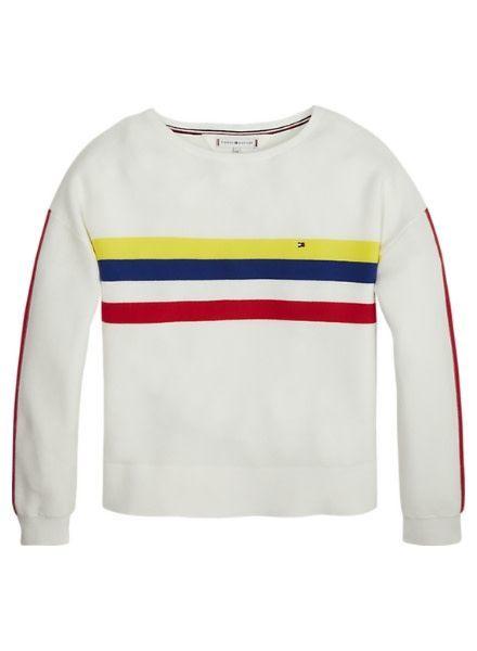 Tommy Hilfiger Sweater Retro Placed Str. KG0KG04309123